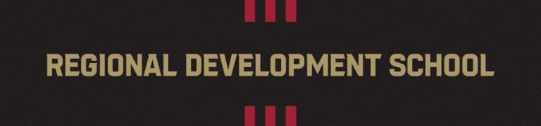 Youth Soccer Banner Header Regional Development School
