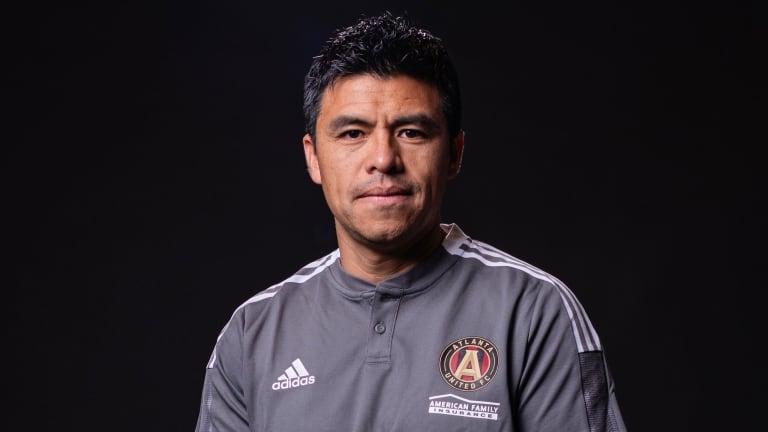Gonzalo Pineda Head Coach Atlanta United 2021 Headshot