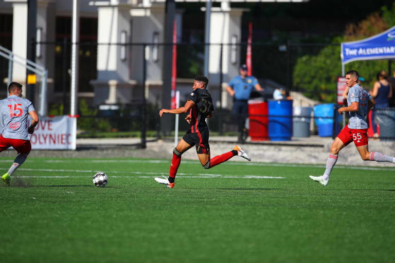 Forged by Atlanta: The Homegrown George Campbell on his development through Atlanta United's system -