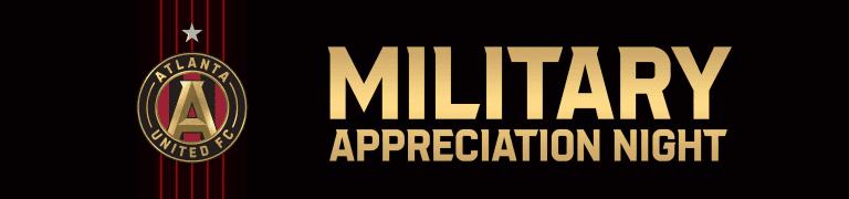 Atlanta United Military Appreciation Night Header Tickets August 15, 2021 vs. LAFC