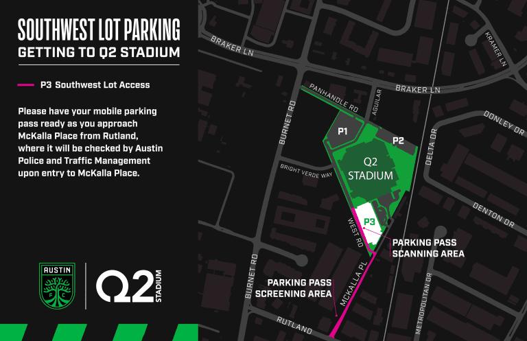Parking   Q2 Stadium -