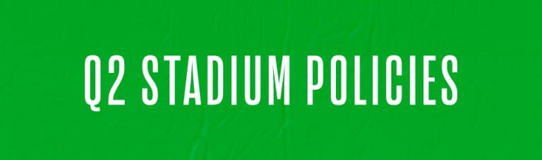 Stadium policies