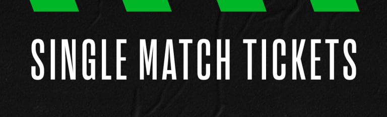 Single Match Tickets Banner