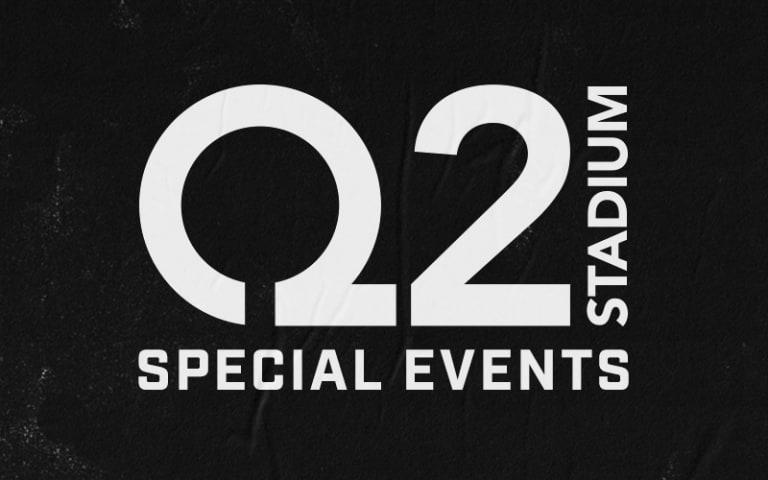 Q2 Stadium Events  -