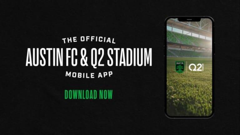 Download the Austin FC App