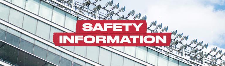 Safety Information 1280x379