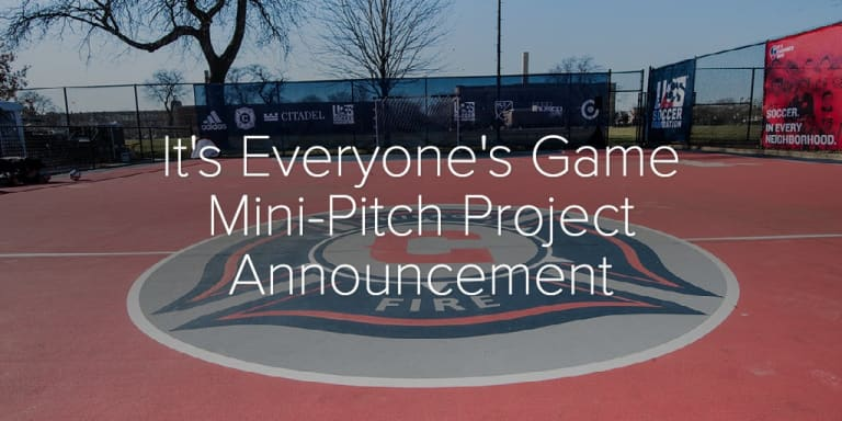 Photo Gallery   It's Everyone's Game Mini-Pitch Project Announcement - It's Everyone's Game Mini-Pitch Project Announcement
