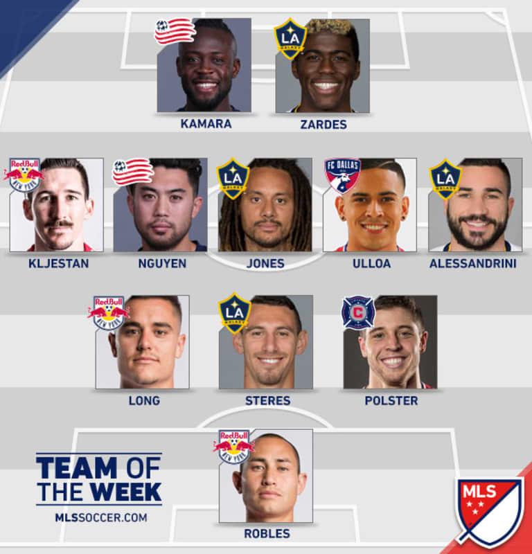Polster, Juninho featured among MLS Team of the Week -