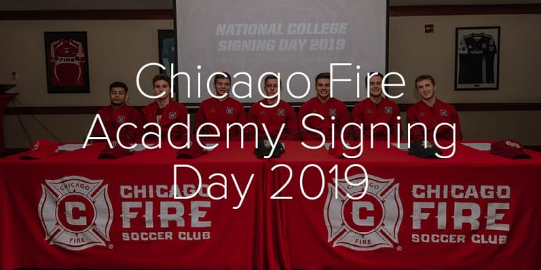 Photo Gallery   Chicago Fire Academy Signing Day 2019 - Chicago Fire Academy Signing Day 2019