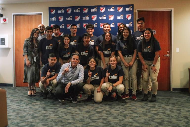 Chicago Fire, SNHU host Rompe Las Barreras Job Shadow Program at SeatGeek Stadium -