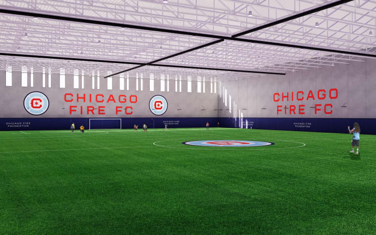 North Austin Community Center - FIFA Regulation Indoor Field Rendering