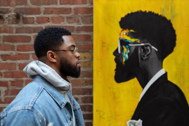 Art and Athletics Intersecting for Change | Chicago artist Dwight White details his Fire x Black Lives Matter patch design -