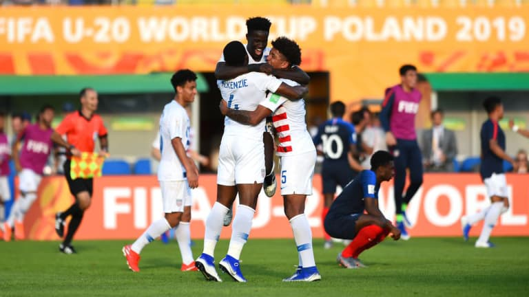 'To be honest, it hasn't really hit me.': Keita recounts World Cup with U-20 U.S. Men's National Team -