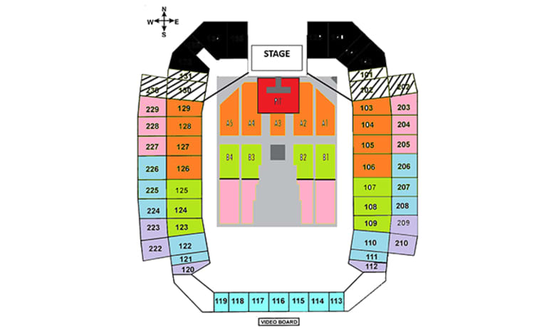 concert seating chart hcs-1