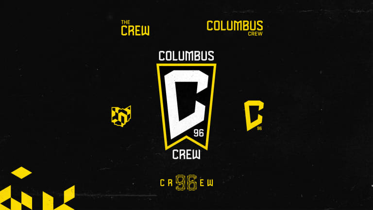 Columbus Crew updates crest and brand marks for the Black & Gold -