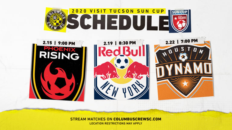 SUN CUP   Live-stream information announced for 2020 Visit Tucson Sun Cup -