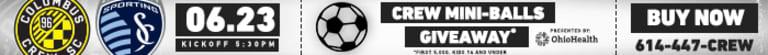 Crew SC's Round-of-16 Lamar Hunt U.S. Open Cup résumé -