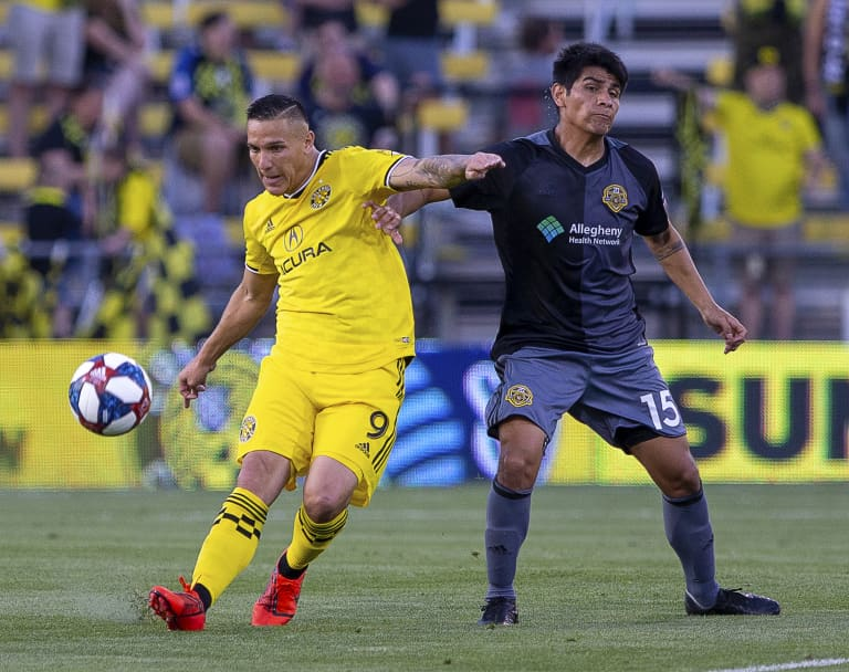 Cohesive play stands out in team-win over Pittsburgh in Open Cup Fourth Round -