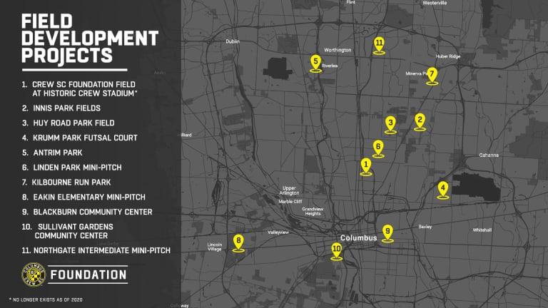 Columbus Crew SC announces installation of new mini-pitch in Columbus -