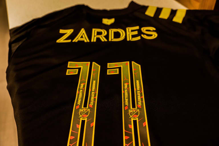 CELEBRATING FREEDOM | Crew players to wear special jerseys to commemorate Juneteenth -