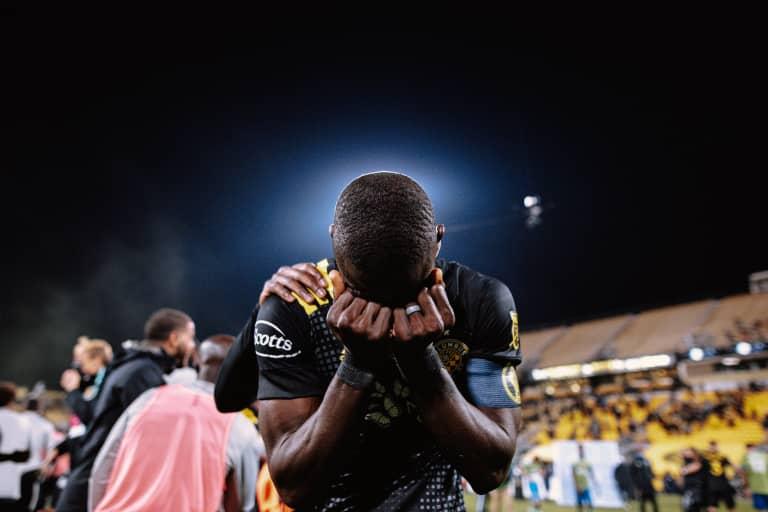 MENSAH | Captain, Best XI defender Jonathan Mensah shares his thanks -