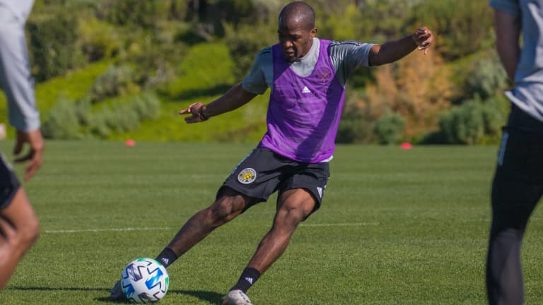 NAGBE | 'This has been the easiest team to transition into' -