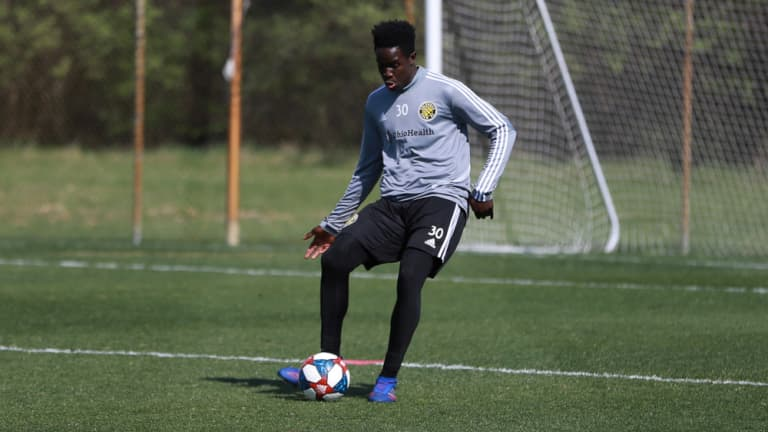 Keita on World Cup call-up: 'I just started yelling, like a little kid.' -