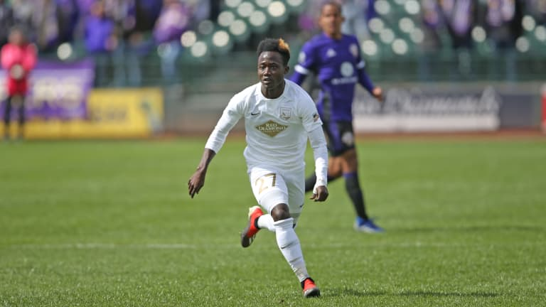 Crew on Loan: Crognale starts in Indy Eleven debut -
