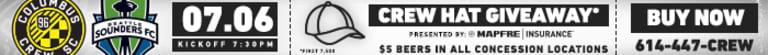 RECAP: Crew SC fall 2-0 to Lions -