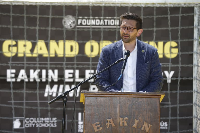 Crew SC announces opening of Eakin Elementary mini-pitch -