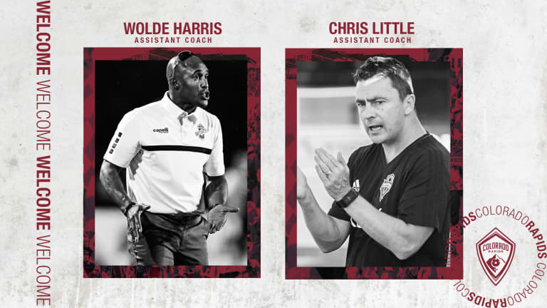 Wolde Harris and Chris Little Join Rapids Coaching Staff as Assistants -