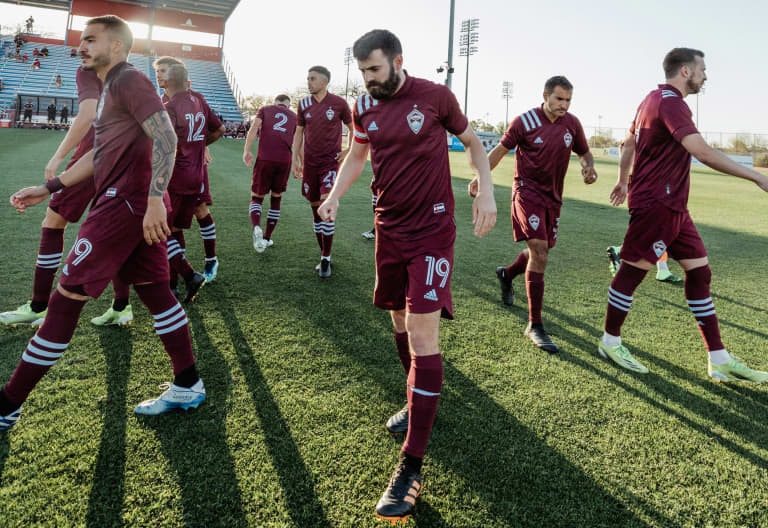 Play by Play: Rapids Fall to RSL 3-0 in Preseason -