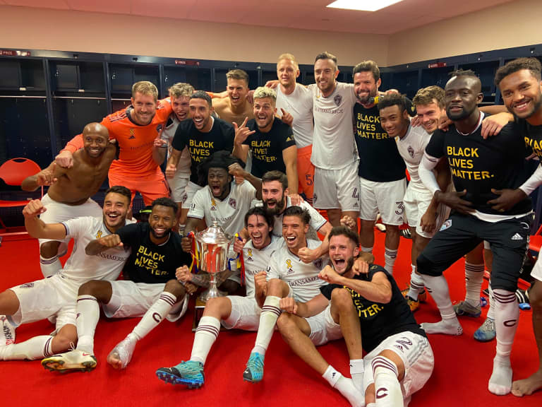 Reliving a Historic Night at Rio Tinto Stadium  -