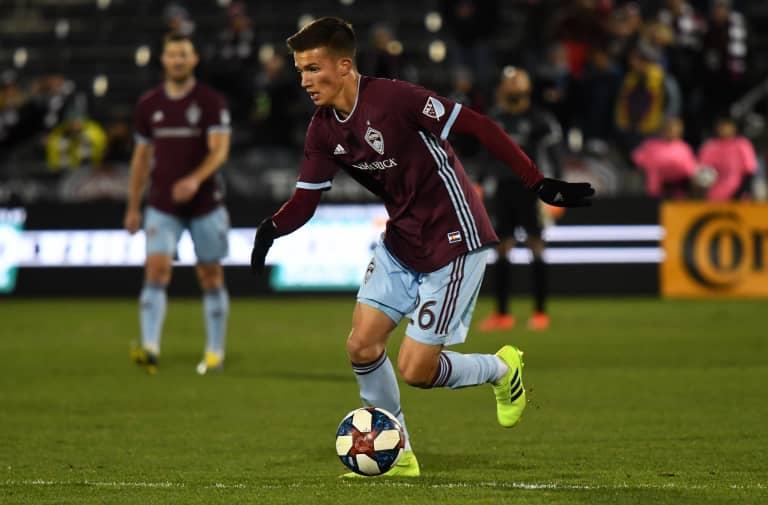 Bassett, Vines among MLS's top 10 Homegrown players enjoying breakout seasons - https://colorado-mp7static.mlsdigital.net/images/2019.03.30_COLvHOU4.jpg