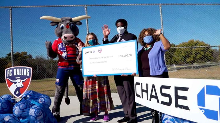 FC Dallas & Chase Donate $50,000 During Five Days of Giving  -