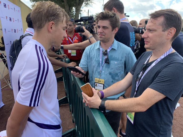 The Learning Opportunity and Being the Youngest Player in the 2019 MLS All-Star Game  -