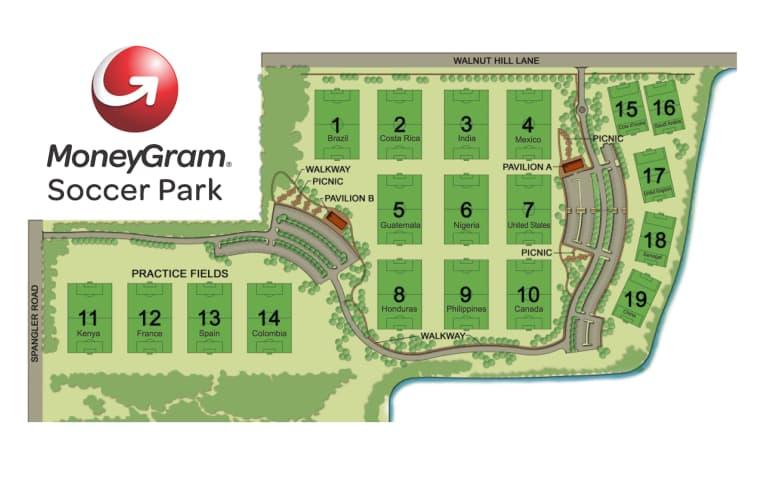 MoneyGram Soccer Park Parking -