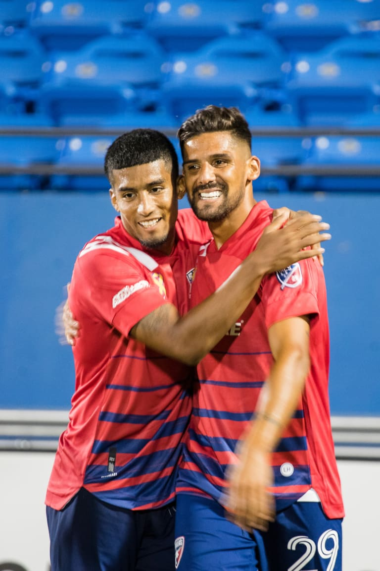 Franco Jara and Santiago Mosquera Named to MLS Team of the Week -