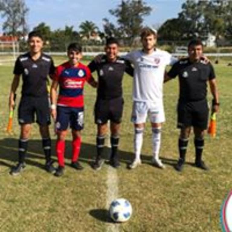 ACADEMY: U-19s and U-17s Compete in Mexican Friendlies  -
