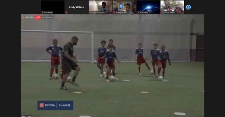 FC Dallas Hosts Virtual Soccer Clinic for Children at Jubilee Park & Community Center -