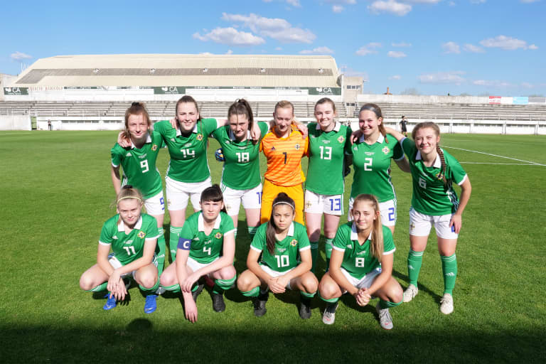 ACADEMY: Grainne O'Casey Gains Overseas Perspective with Ireland Youth National Team -