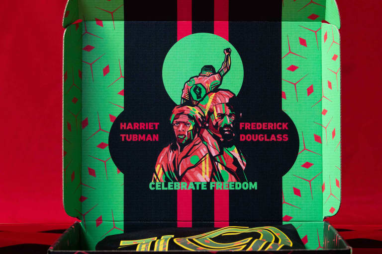 MLS and BPC Celebrate Freedom on Juneteenth with Limited-Edition Jerseys Auctioned to Benefit Black Communities  -