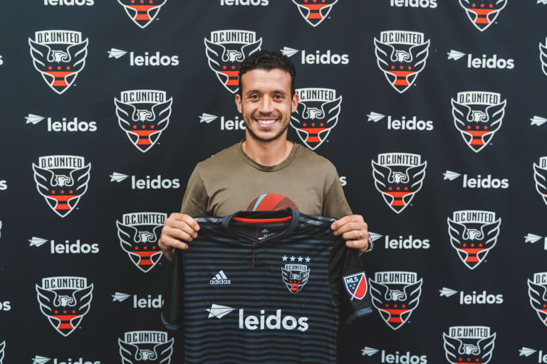 D.C. United Acquire Midfielder Felipe Martins from Vancouver -