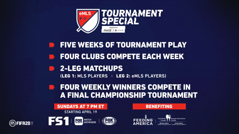 Major League Soccer and FOX Sports Launch eMLS Tournament Special  -