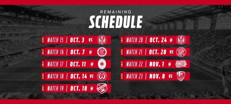 D.C. United's match against New York City FC rescheduled to October 7 -