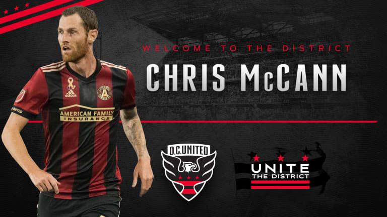 D.C. United acquire veteran midfielder/defender Chris McCann -