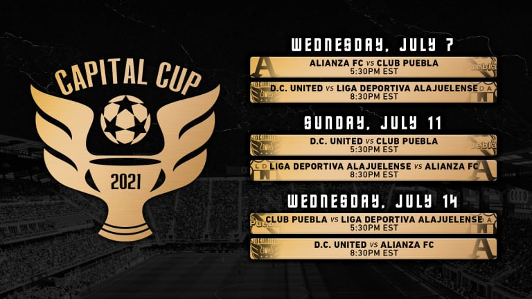 Audi Field Announces the Addition of Liga Deportiva Alajuelense to the Inaugural Capital Cup Along with the Tournament Schedule -