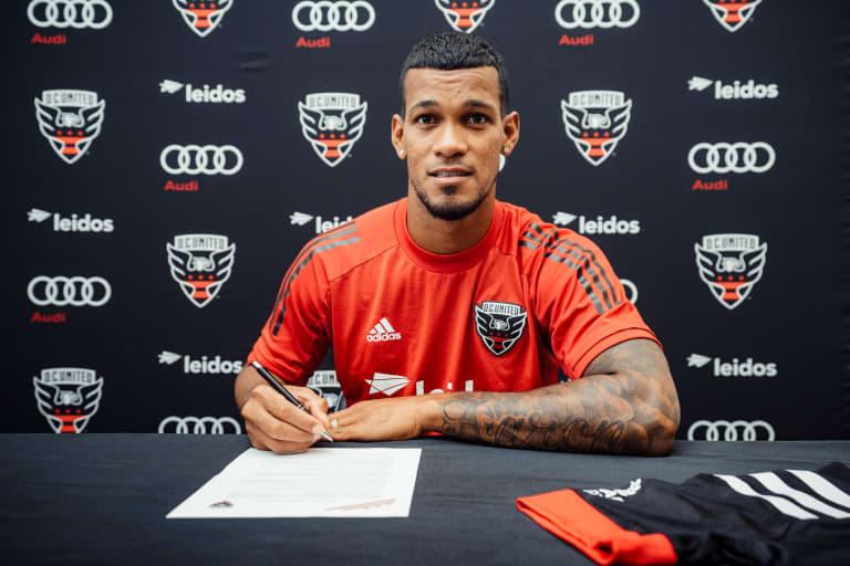D.C. United sign Venezuelan forward Gelmin Rivas  - Gelmin Rivas