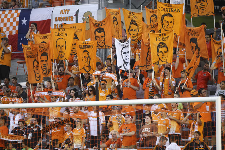 Houston Dynamo see remaining home schedule as the key to a run at a playoff spot -