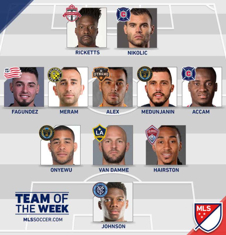 Dynamo midfielder Alex named to MLSsoccer.com Team of the Week for Week 11 -